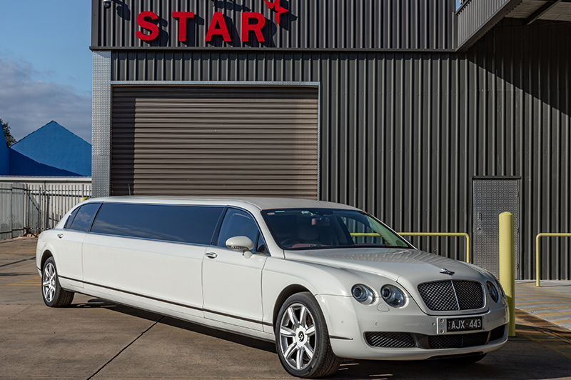 Bentley Stretch Limousine (White)