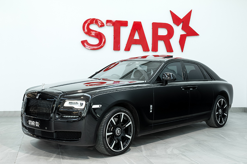 Rolls Royce Ghost Black Badge Series II