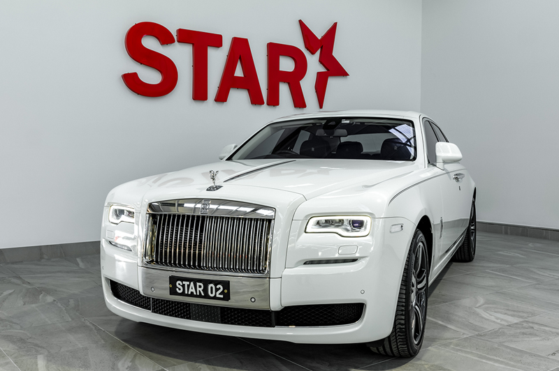 Rolls Royce Ghost White Series II